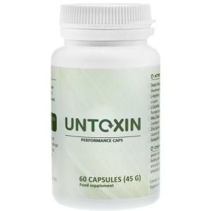 Untoxin - tabletki na oczyszczanie organizmu